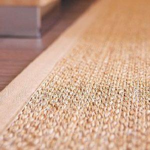 Carpets from natural fibre and door mats