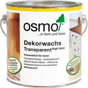 OSMO Eļļas vaski iekšdarbiem Dekorwachs Transparent