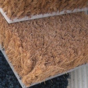 Carpet for entrance areas coco fiber