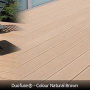 WPC terases dēļi Natural Brown