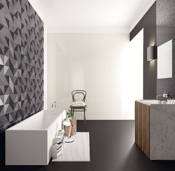 Dekors vision caleydo 25x60cm salons objekts for Miroir viva ceramica