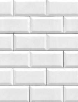 Metro White 10x20 cm
